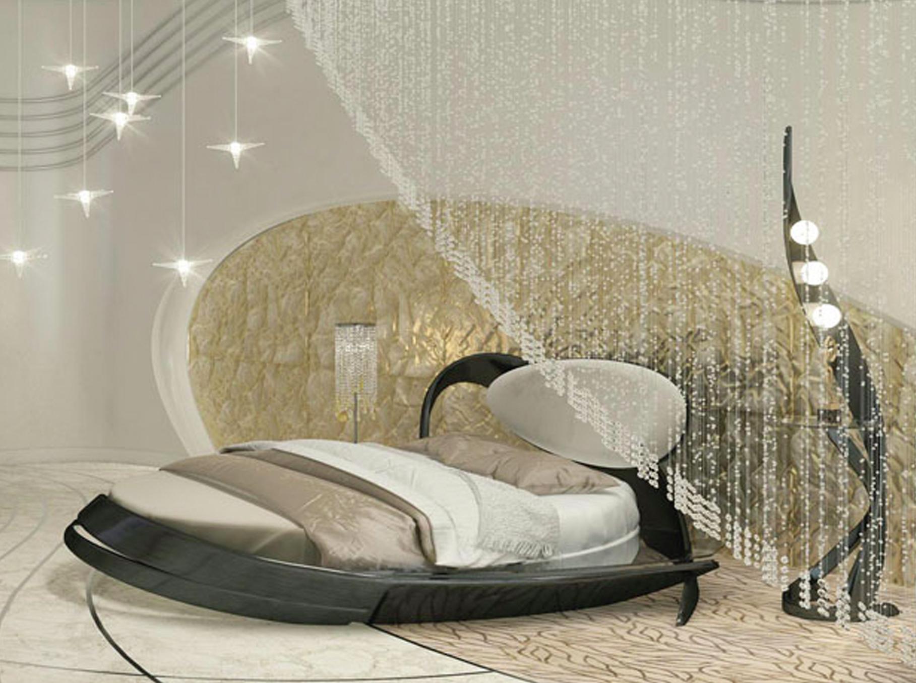 круглая кровать фото и цены