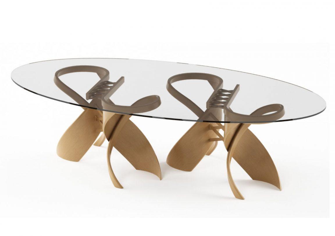 стол стеклянный кухонный круглый купить