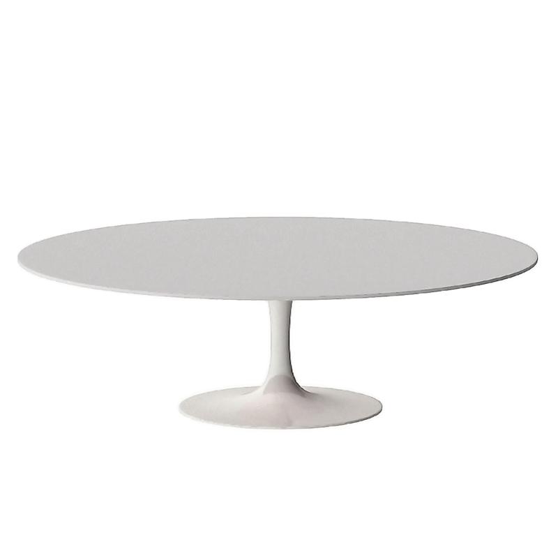 стол обеденный овальный на одной ножке