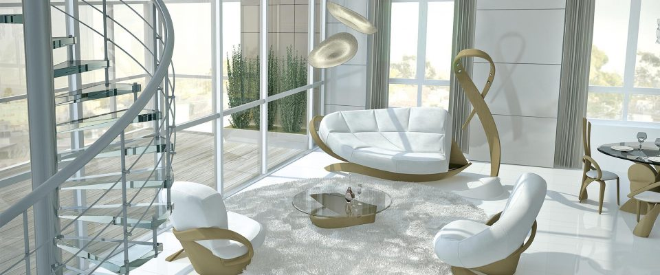 Проекты гостиных с красивой мебелью