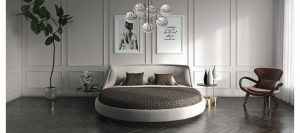 Постельное белье для круглой кровати