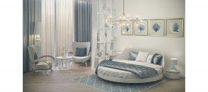 Дизайн двуспальной кровати