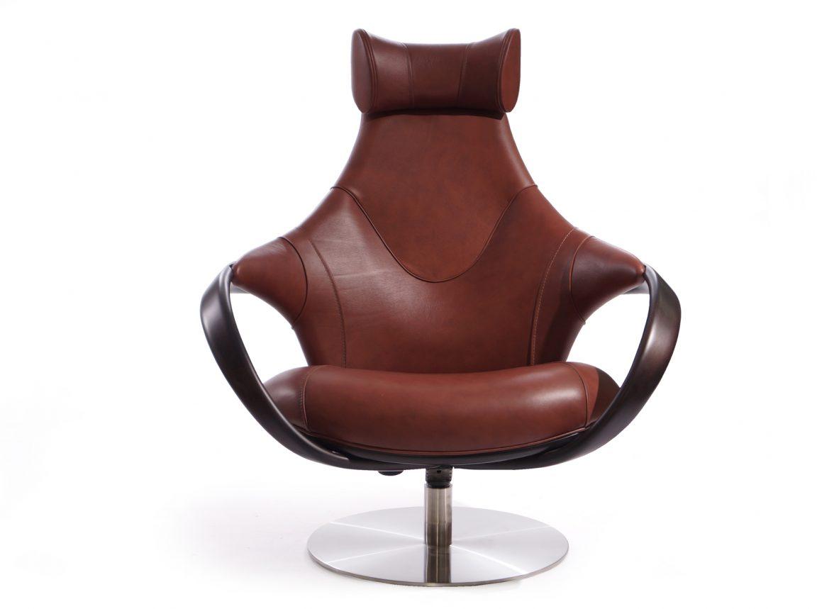 Стильное кресло крутящееся для гостиной