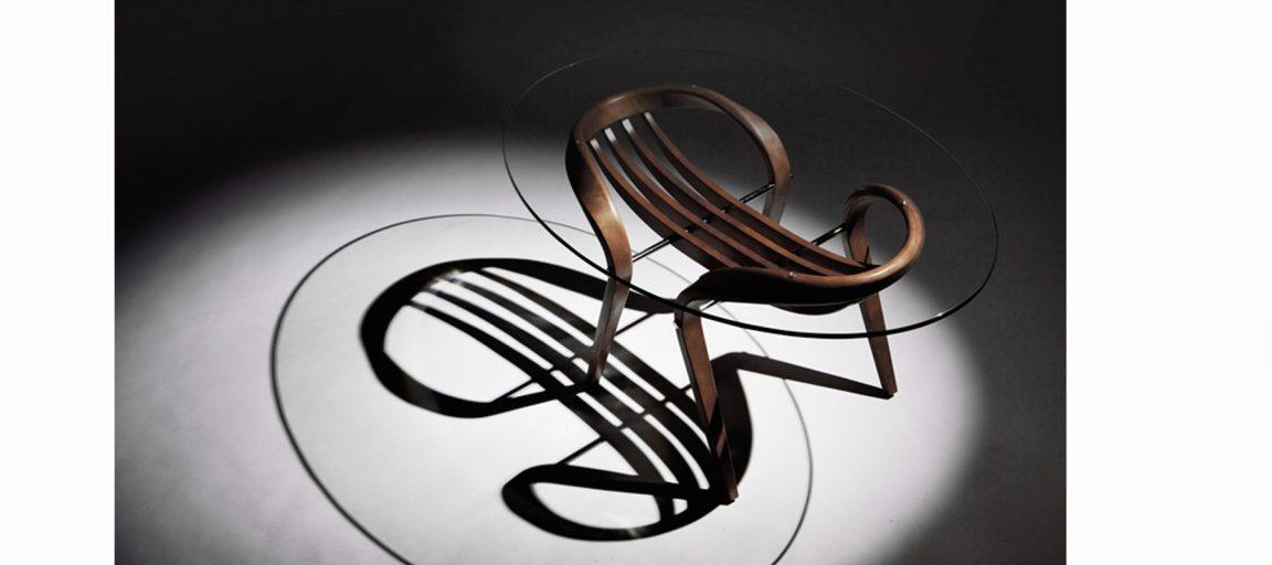 Столы журнальные овальной формы