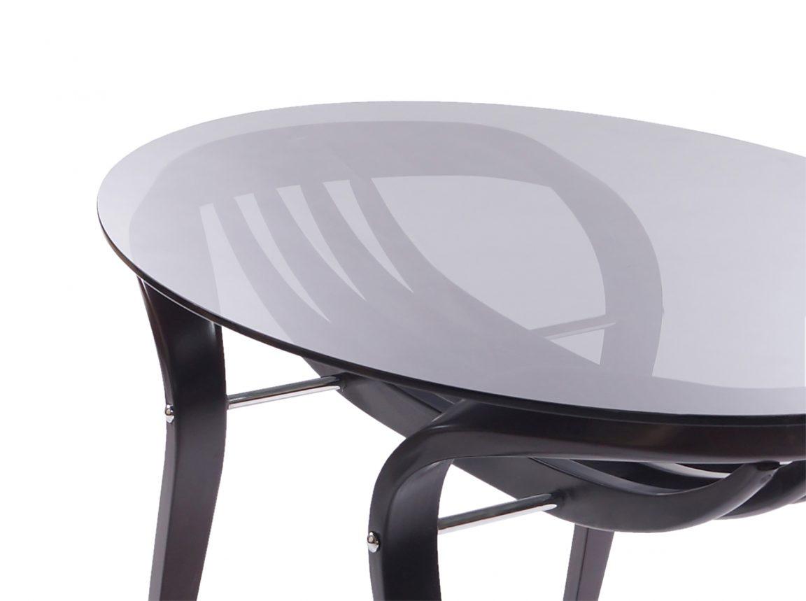 Универсальный стол из гнутого массива