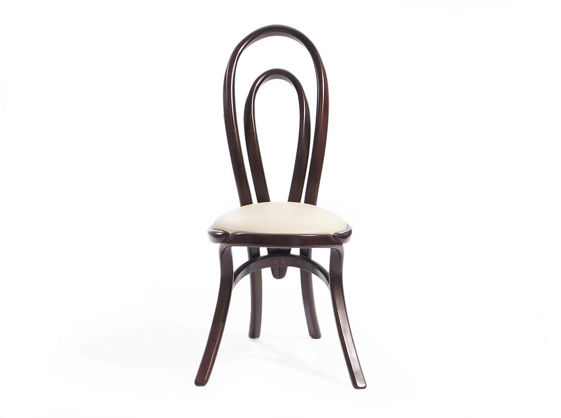 Авторский стул из темного дерева