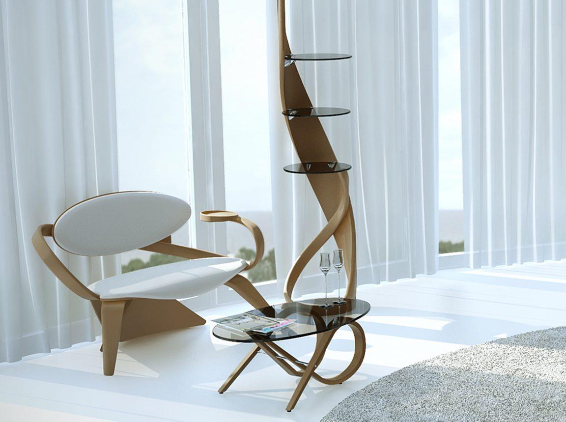 авторские изделия из дерева для современного интерьера
