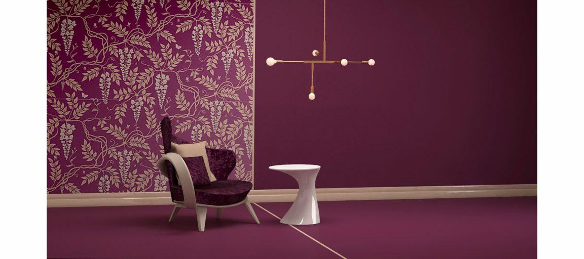 уютный элегантный интерьер с креслом