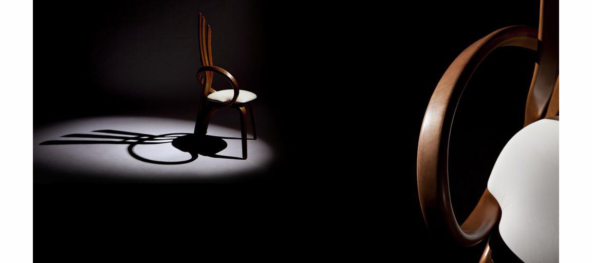Необычный дизайнерский стул ручной работы