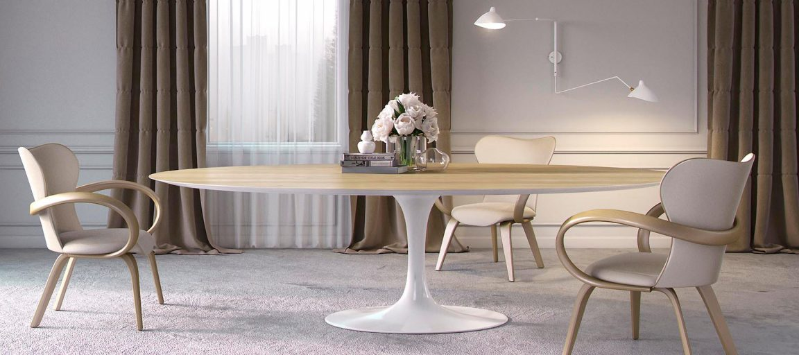 элитный обеденный стол Tulip