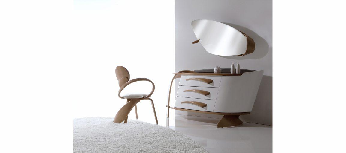 Дизайнерский изогнутый стул