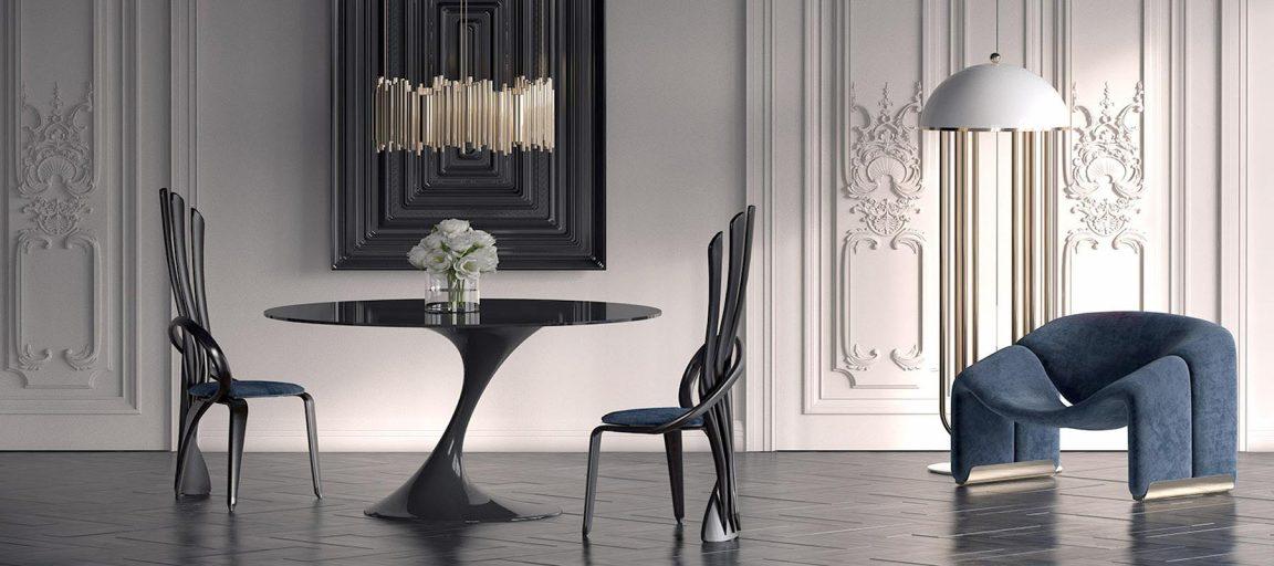 Уникальная мебель для классической столовой