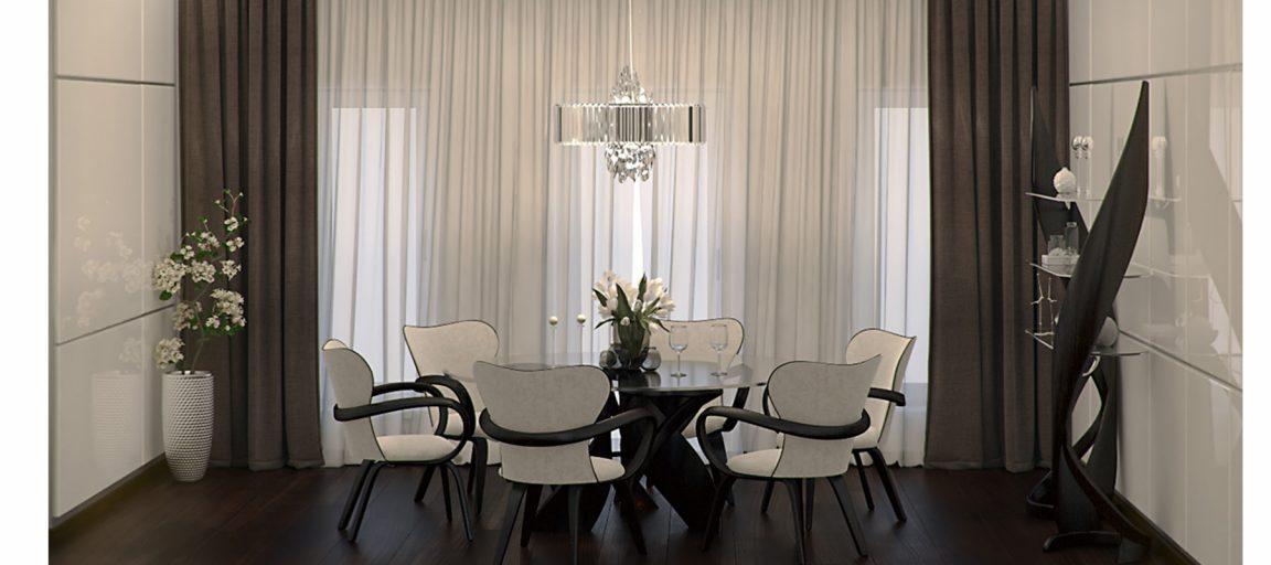 Дизайнерский стол обеденный на кухню