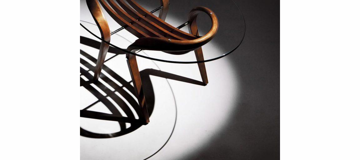 Большой стол из натурального массива