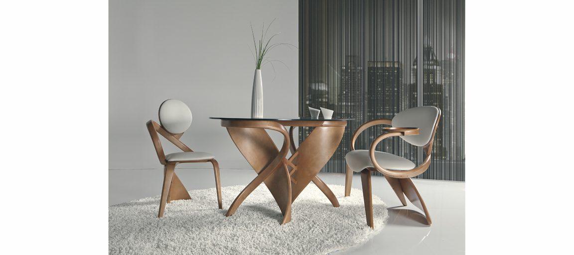 Стильный кухонный стул в интерьере
