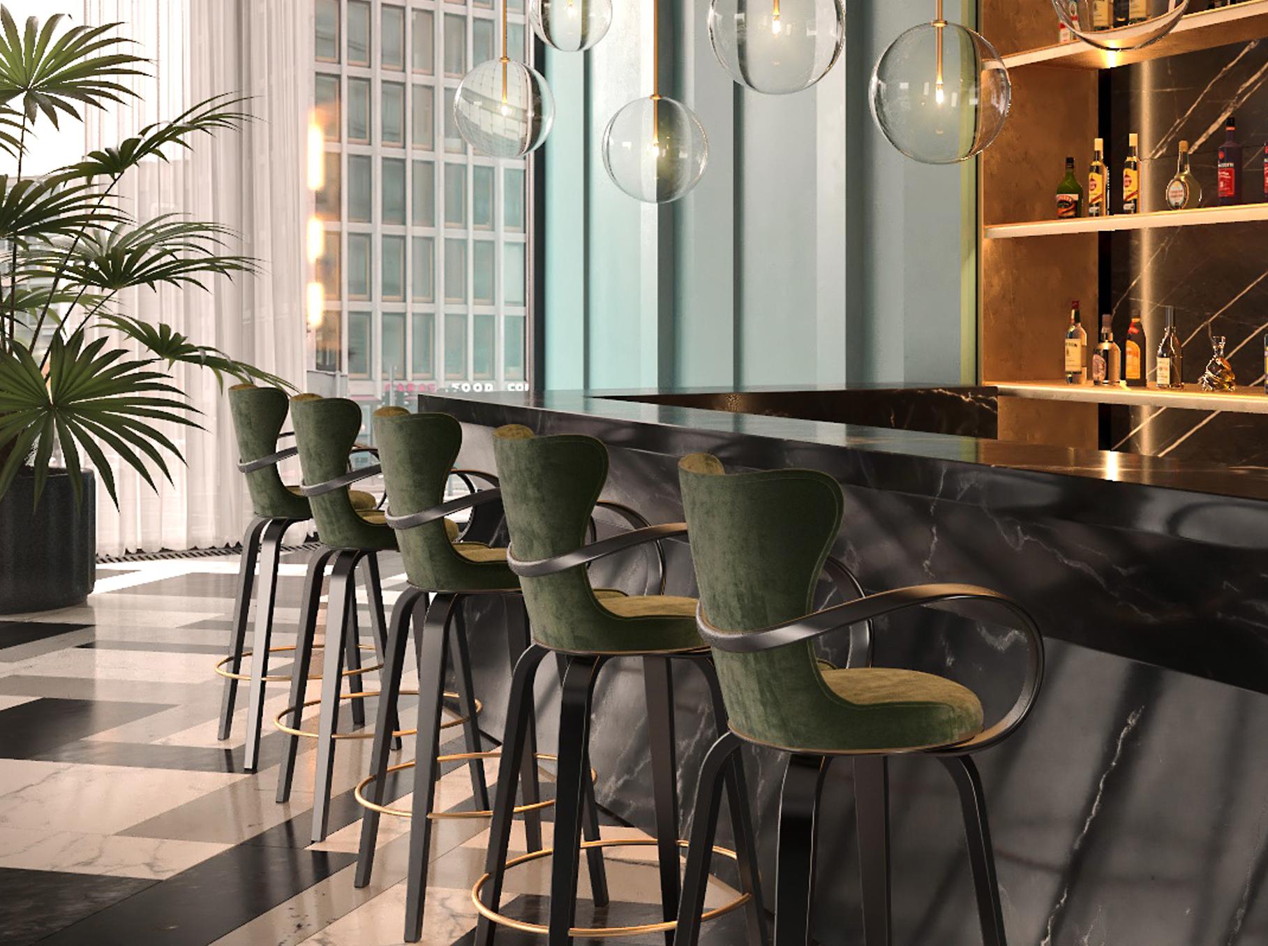 стулья для барной стойки фото сделано