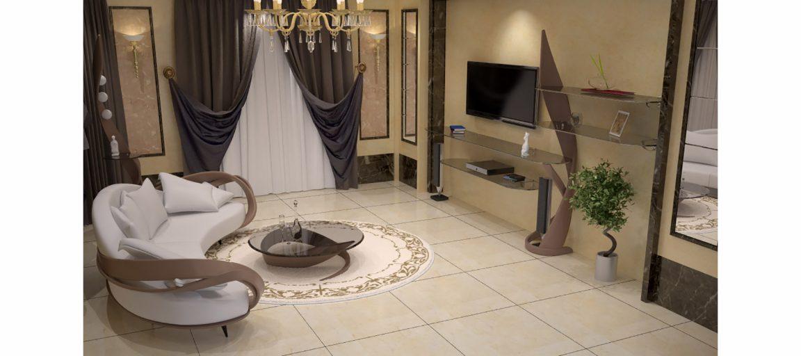 классический интерьер для гостиной