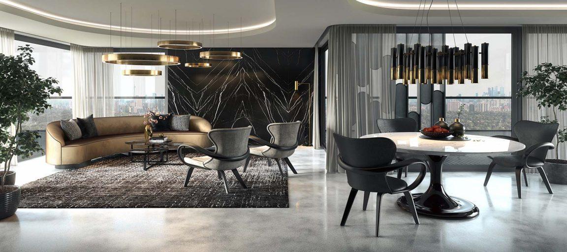 Элитная мебель в роскошный дом