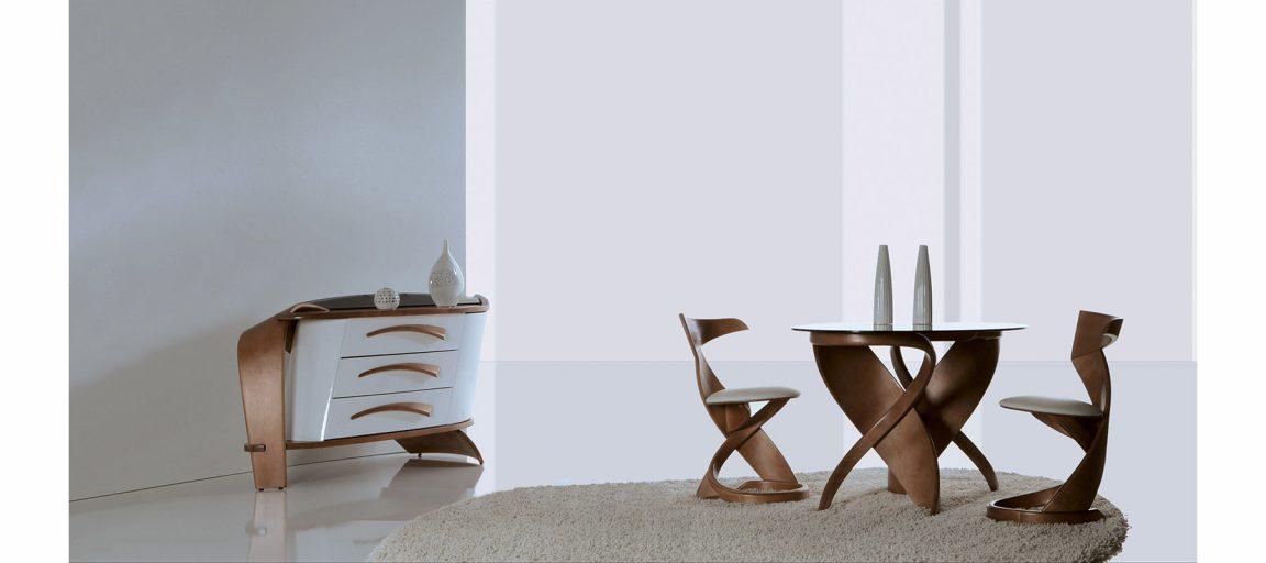 Роскошный стол необычного дизайна