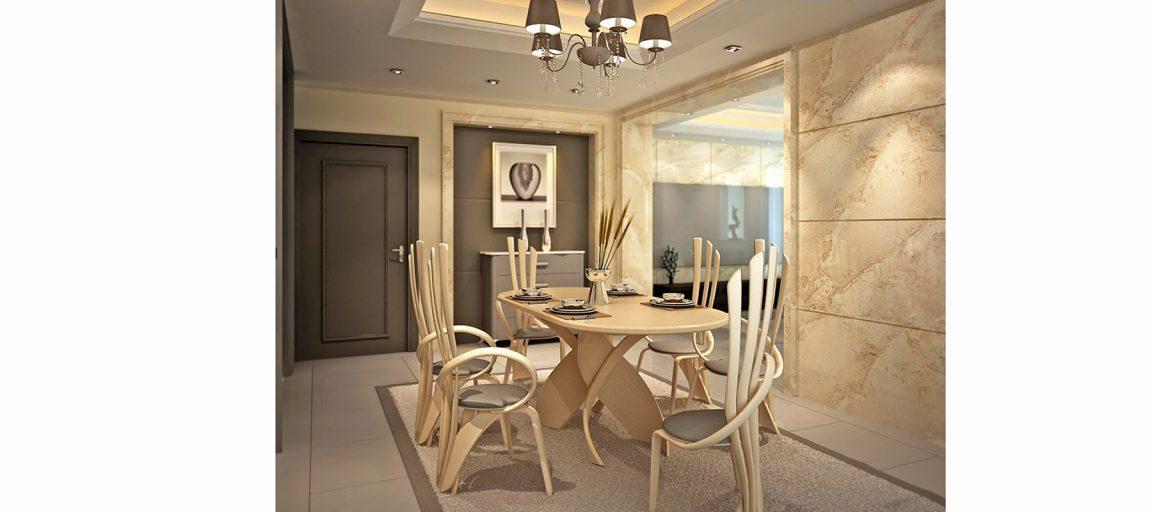 Шикарные светлые стулья со столом