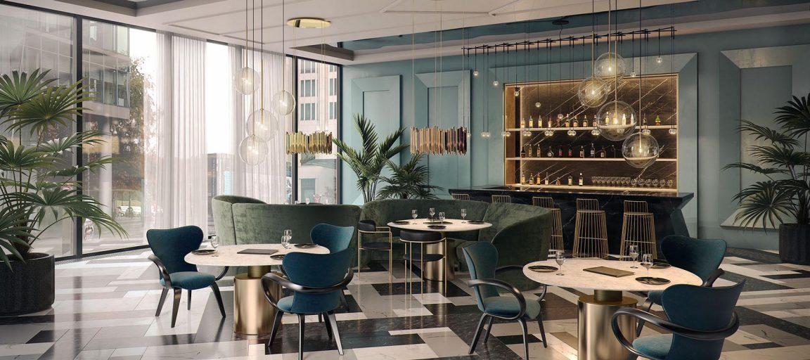 элегантная коллекция мебели Априори для ресторана