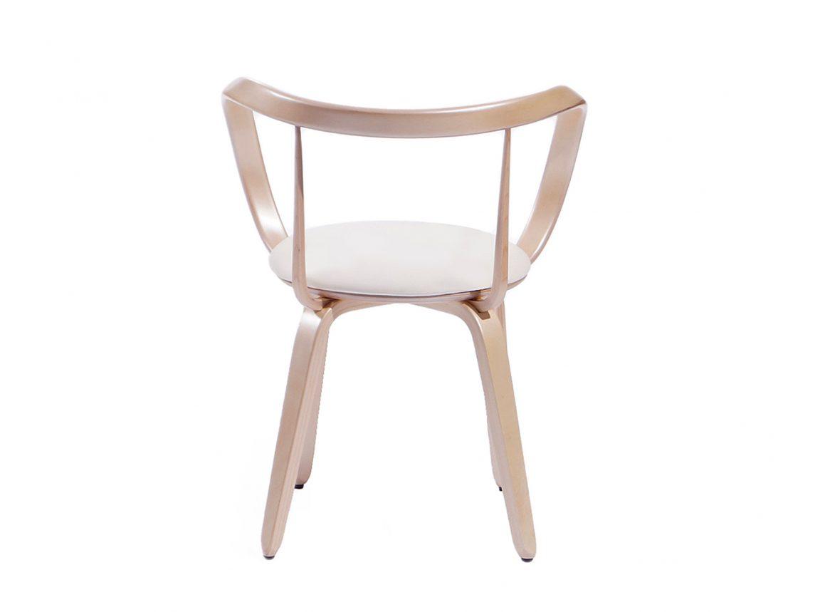 легкий стул из массива берёзы