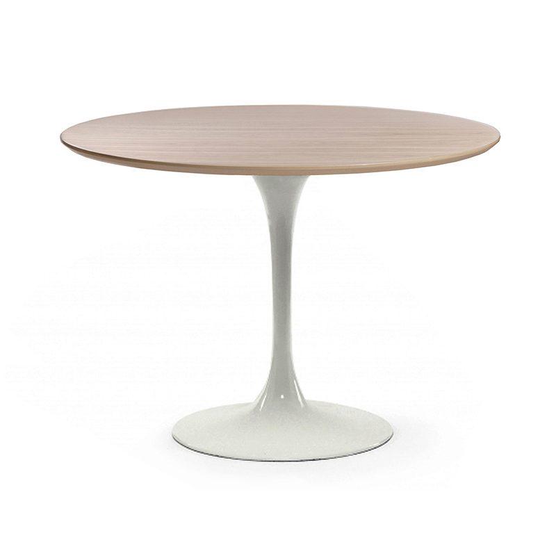 Неординарный стол Тулип светлый
