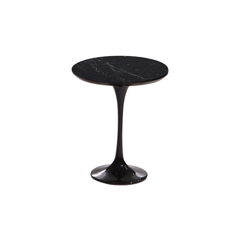 кофейный круглый столик Априори