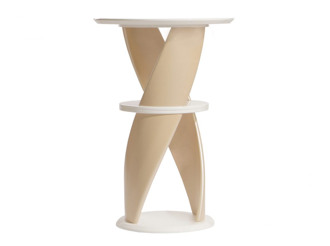Дизайнерский стол барный светлый