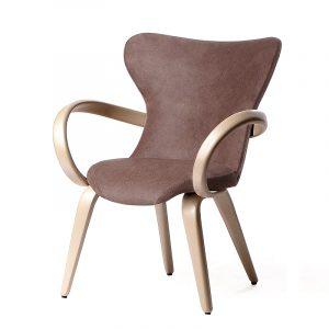 Авторский стул из гнутого дерева