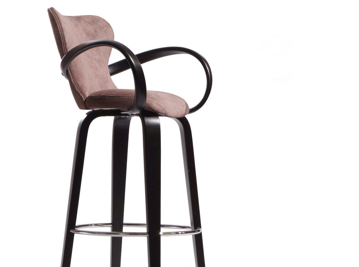 уютный уникальный барный стул