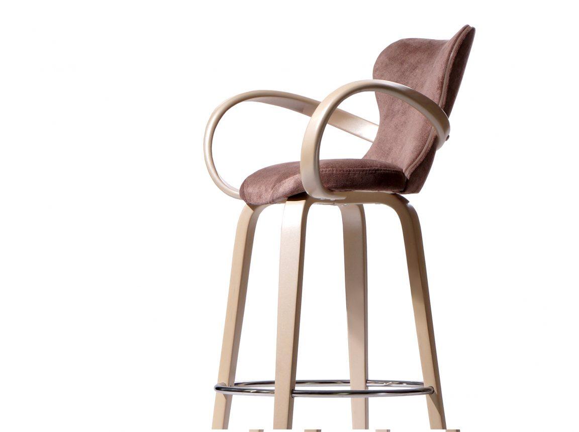 удобный стул барный светлый