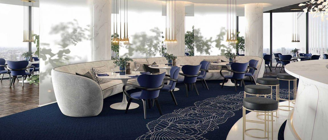 Актуальный дизайн интерьера ресторана