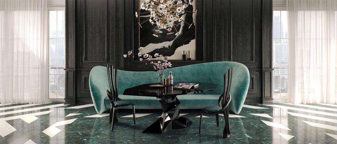 Изысканные стулья в стильном интерьере