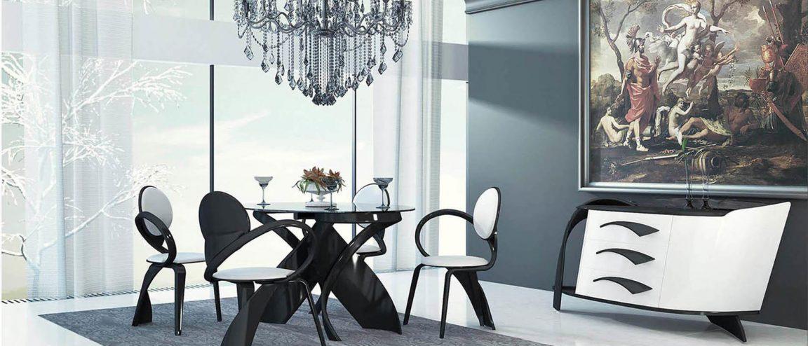 Элитная мебель черного цвета
