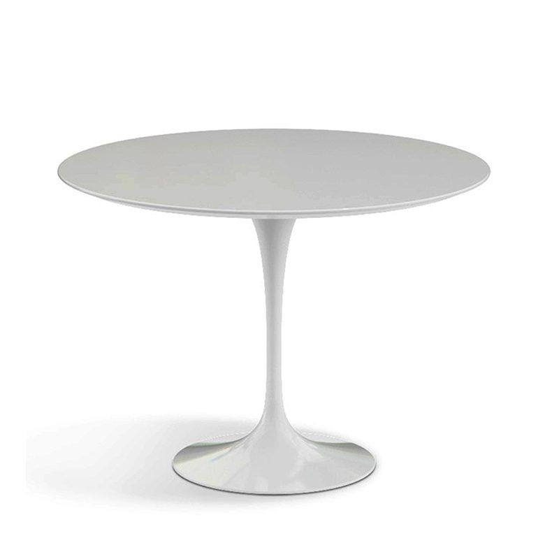 Удивительный обеденный белый стол