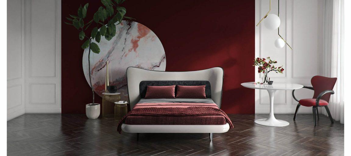 Стул для спальни в современном интерьере