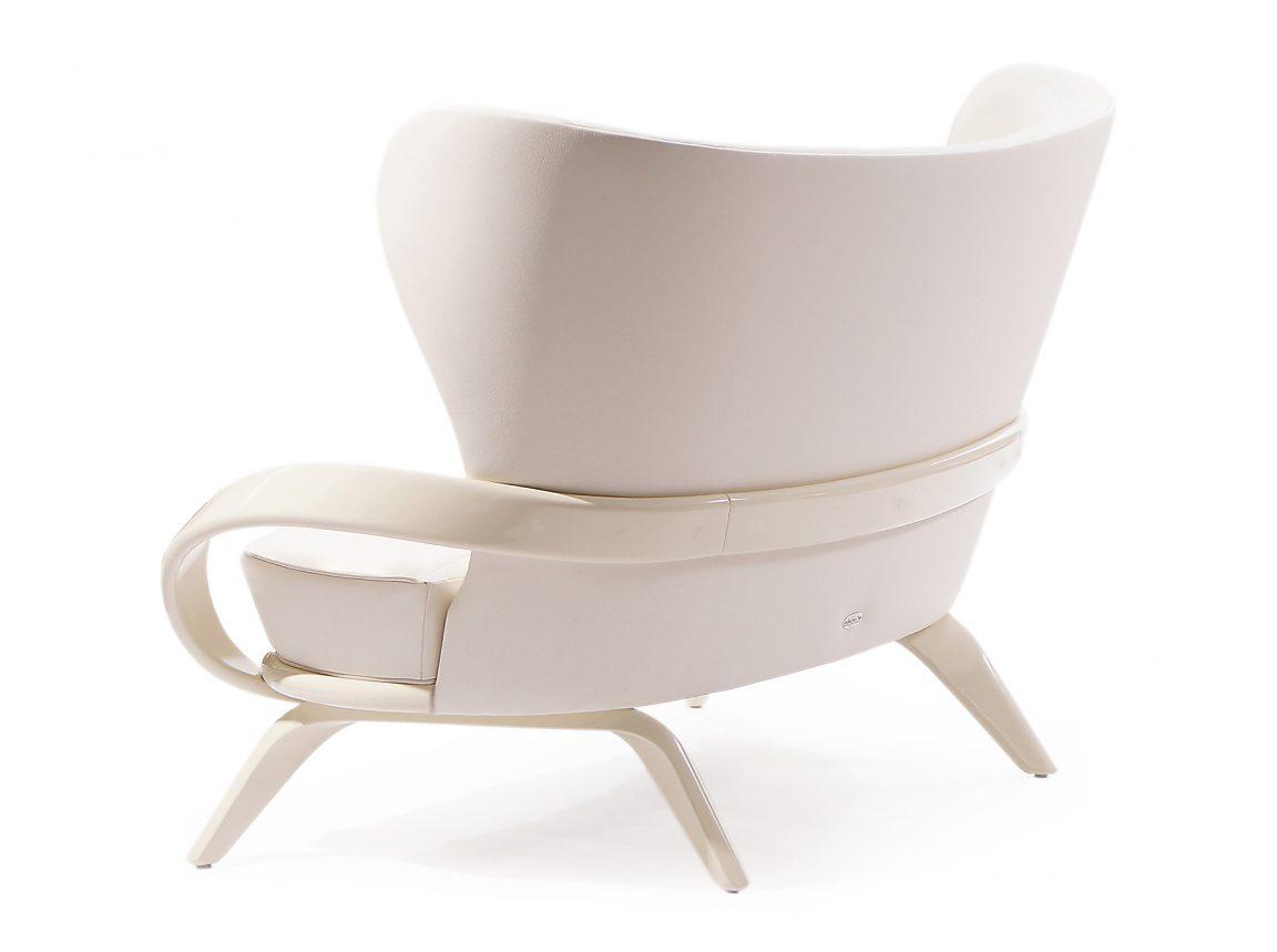 Шикарный диван белый из массива