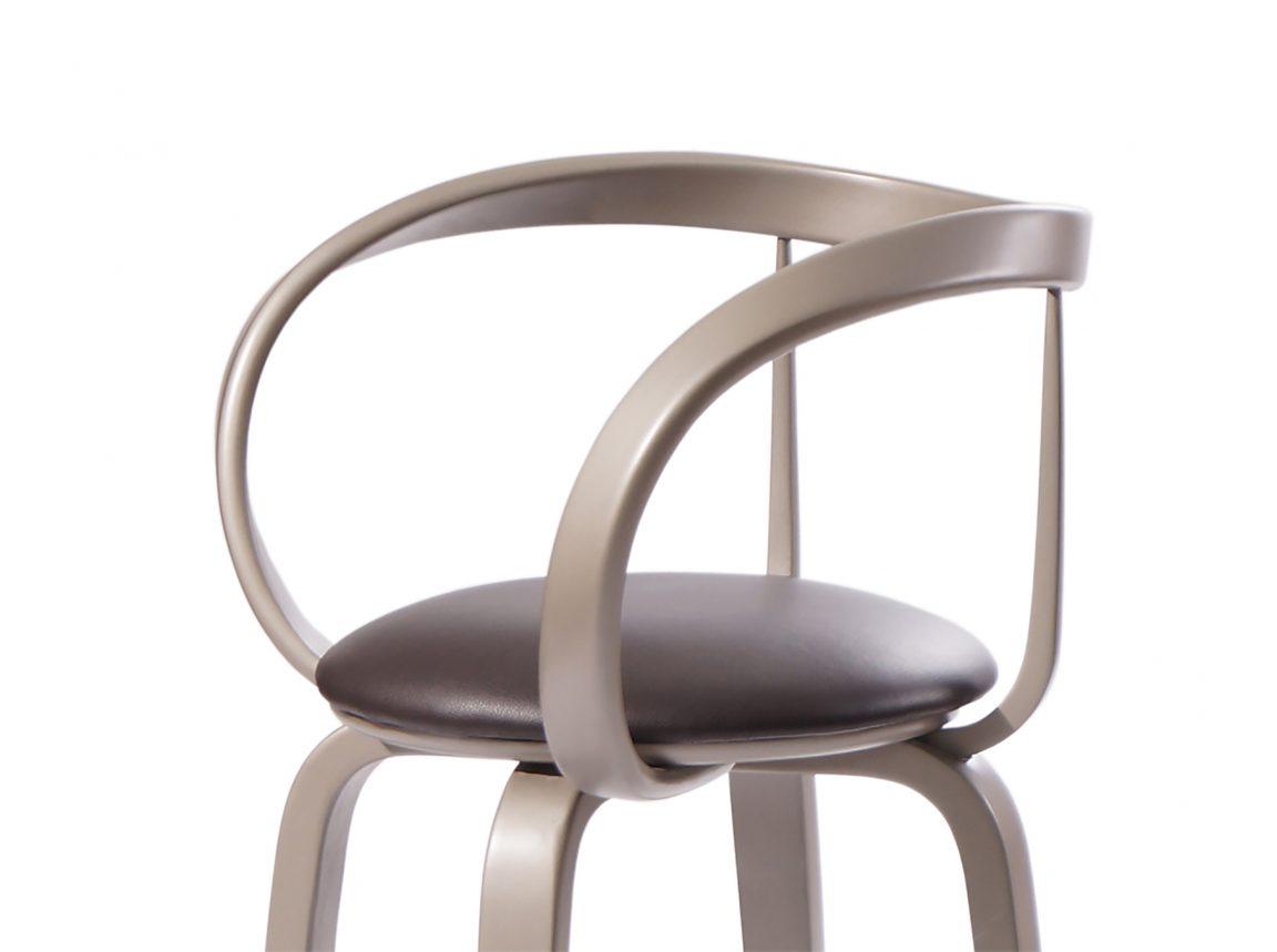 Шикарный барный стул бронзовый