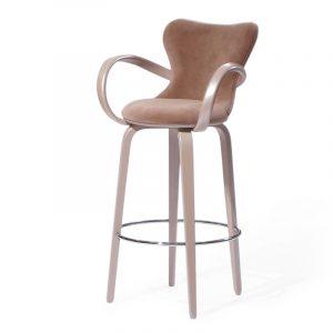 Модный высокий стул для бара