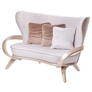 роскошный белый диван для гостиной