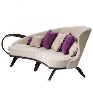 Шикарный диван изогнутой формы