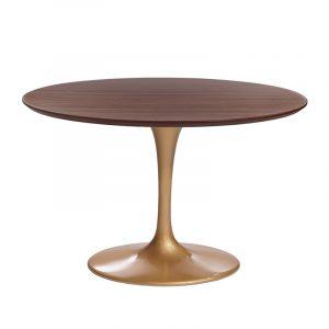 Красивый стол круглый в кухню