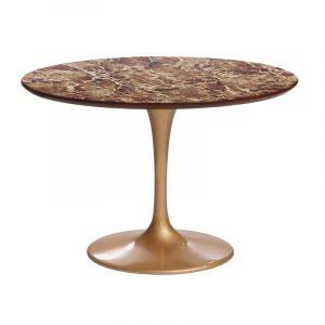 Элитный золотой стол в столовую