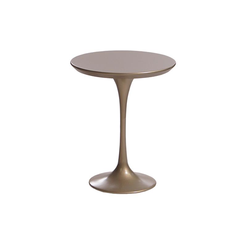 Кофейный столик круглый небольшой