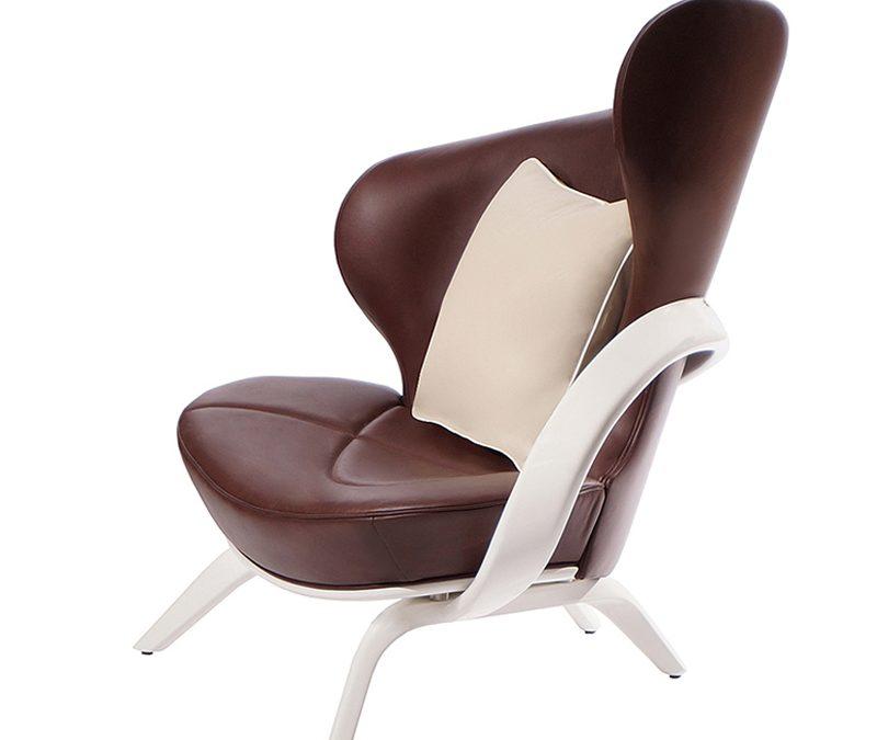 Кресло в натуральной коже