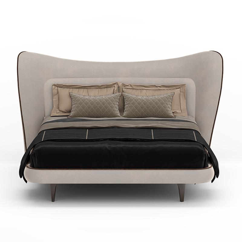 Элегантная кровать большого размера
