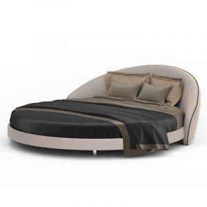 Круглая кровать авторской работы