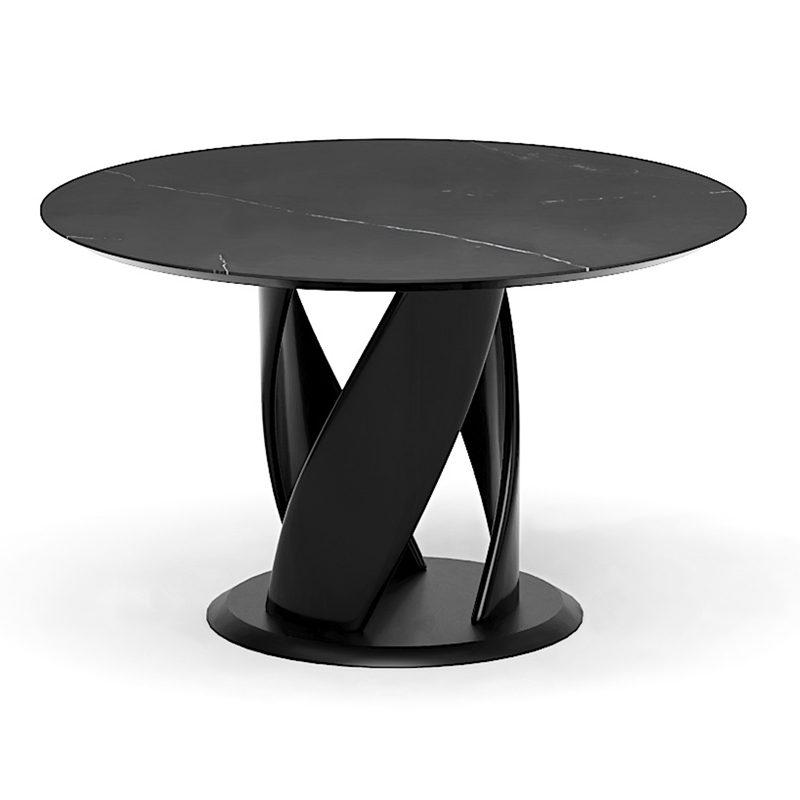 Оригинальный круглый стол в столовую