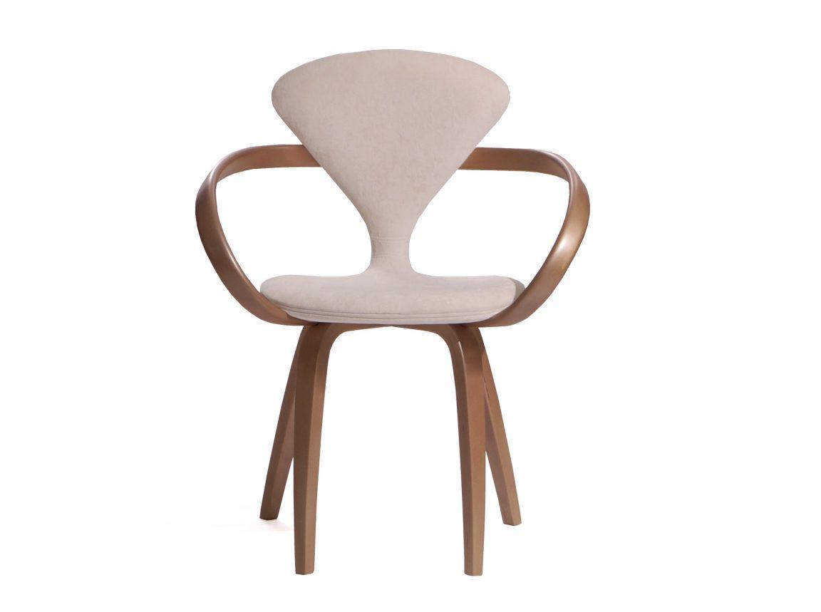 Элегантный деревянный стул белый